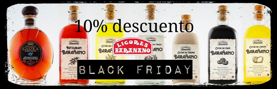 Black Friday en Licores Barañano